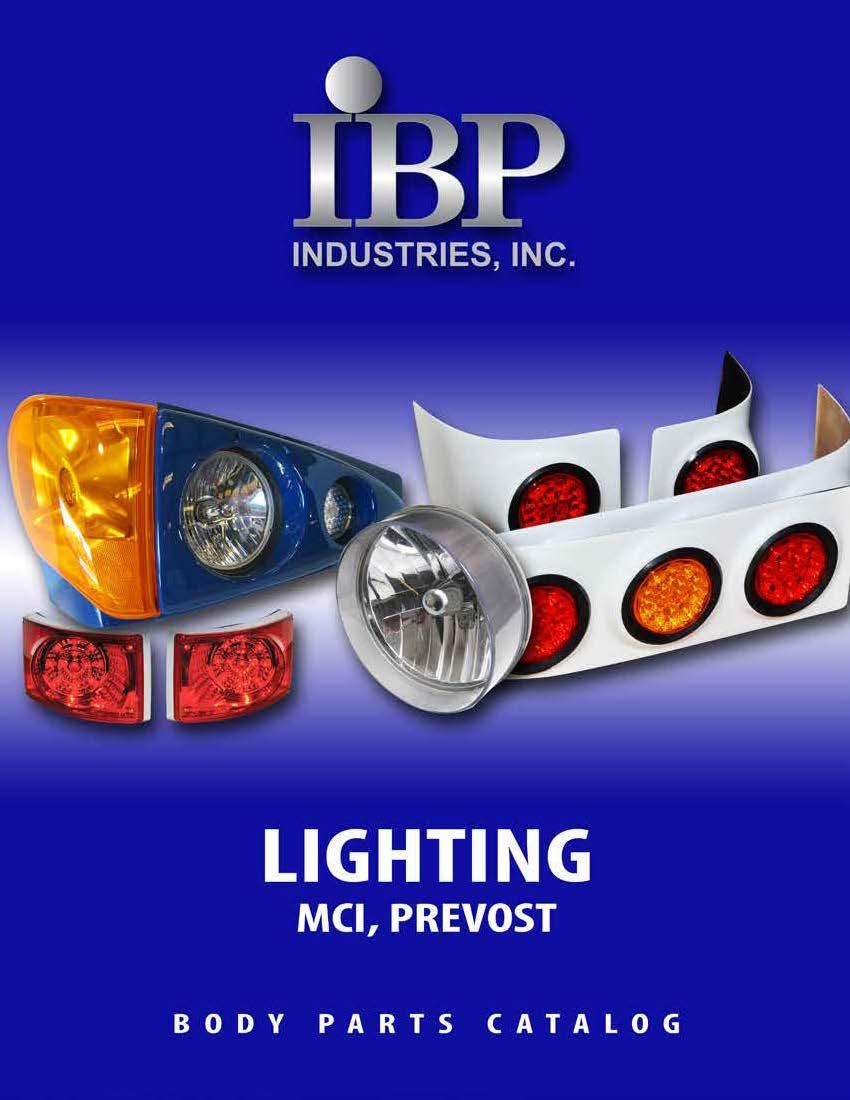 Lighting: MCI & Prevost